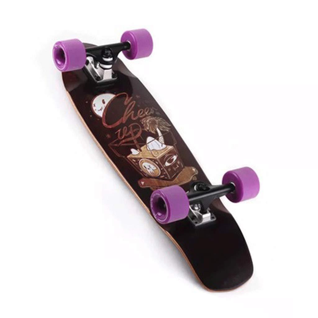 最も完璧な ビッグフィッシュボードロードボードストリートトラベル初心者アダルトメイプルスモールフィッシュボード (色 : Bamboo color, : サイズ さいず Purple : 72mm 65mm) B07L4MYM8Y 72mm Purple Purple 72mm, ファッションなデザイン:a4cc56df --- a0267596.xsph.ru