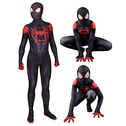 Cimno Boys Spandex Superhero Cosplay Zentai Costume Jumpsuit Cosplay Kids, XS -