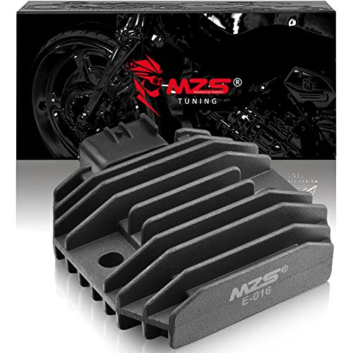 Star Regulator - MZS Voltage Regulator Rectifier for Yamaha YZF R6 06-12,XVS 125 200 650 1100,RHINO 450 660,KODIAK 400,GRIZZLY 600,FZ6R,BT1100,VP300,WR250R,YFM350 and more