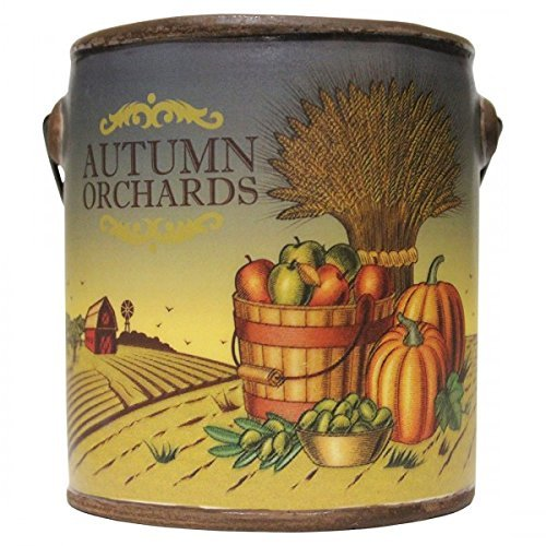 Orchard Pillar Candle - A Cheerful Giver Autumn Orchards Farm Fresh Collection Candle, 20 oz