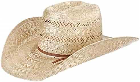 421d7180dbaa24 NRS American Hat Company Mens Sisal Vented Open Crown 4 1/4 Brim Straw  Cowboy