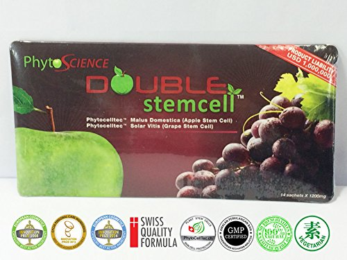 100 Packs PhytoScience Double Stemcell Apple Grape Anti Aging Antioxidant + Free Expedited Shipping