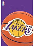 Amscan 373627 Los Angeles Lakers NBA Collection