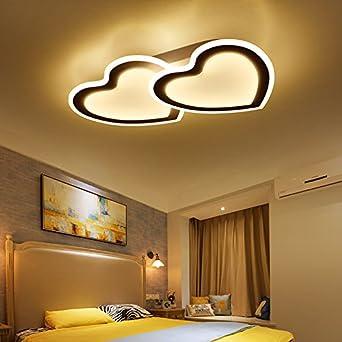 Besondere Deckenlen eine herzförmige deckenleuchte schlafzimmer raum licht