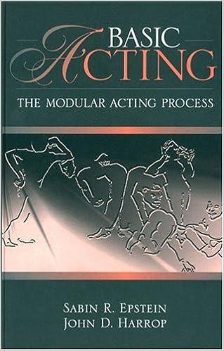 Book Basic Acting: The Modular Acting Process