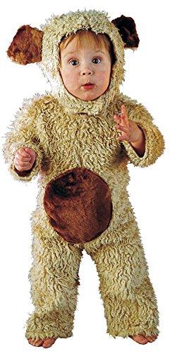 UHC Baby Boy's Oatmeal Bear Teddy Theme Infant Halloween Fancy Costume, 12-18M