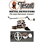 "New Tesoro Outlaw Metal Detector 3 Coil Bundle Package (5.75"", 8"","