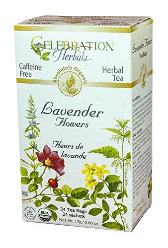 Celebration Herbals Organic Lavender Caffeine