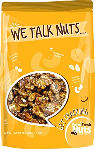 Farm Fresh Nuts Pecans honey - Glazed Cinnamon (1 (Honey Glazed Pecans)