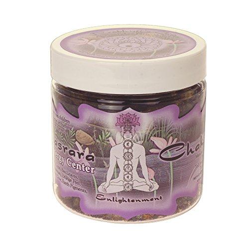 Resin Incense Crown Chakra Sahasrara - Enlightenment - 2.4oz jar