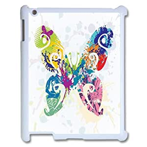 C-Y-F-CASE DIY Design Colorful Flower Butterfly Pattern Phone Case For IPad 2,3,4