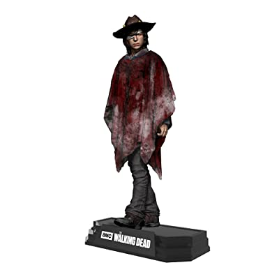 "McFarlane Toys The Walking Dead Carl Grimes 7"" Collectible Action Figure: Toys & Games"