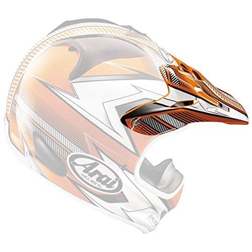 Arai VX-Pro3 Nitrous Helmet Visor Red by Arai (Image #2)