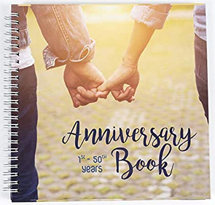Wedding Anniversary Memory Book A Hardcover Journal To Document