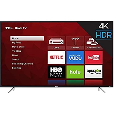 TCL 65S405 65 4K Ultra HD Roku Smart LED TV (2017 Model)