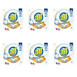 all Mighty Pacs Laundry Detergent with OXI Stain Removers and Whiteners, 38 Count (6 pack)