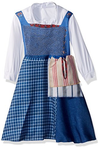 Disney Belle Village Dress Classic Movie Costume, Multicolor, Medium (3T-4T)