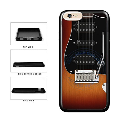 Bleureign Tm  Detailed Guitar Strings Tpu Rubber Silicone Phone Case Back Cover For Apple Iphone 8 Plus And Iphone 7 Plus