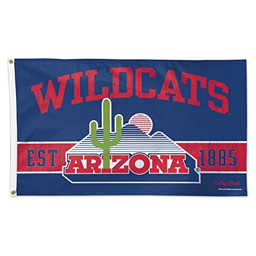 Arizona Wildcats Flag 3x5 College Vault Logo Deluxe Reinforc