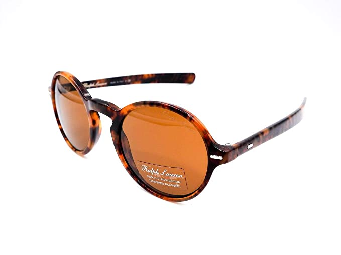 Amazon.com: Ralph Lauren 525053 - Gafas de sol redondas ...
