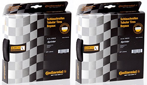 Continental 2 Pack Sprinter Tubular Tire 28'' x - Tire Continental Tubular Competition