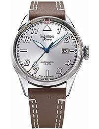Kentex SKYMAN 6 Pilot Men's Automatic Silver Dial Watch S688X-01