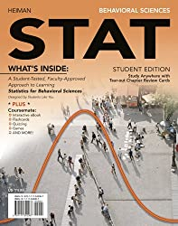 Behavioral Sciences STAT (with Review Cards and Psychology CourseMate with eBook Printed Access Card) (Engaging 4LTR Press Titles in Psychology)