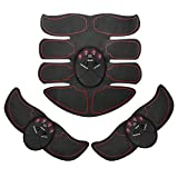 Ankuka Abdominal Muscle Toner, Portable ABS Muscle Toning Trainer Belt for Abdomen/Arm/Leg Training, Gym Workout Home/Office Men Women Fitness Equipment