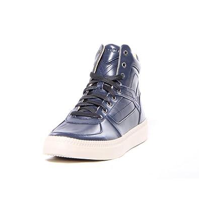 Diesel Sneaker - Herren - Halbhohe Sneaker Spaark in Marineblau für Herren  - 43 7720c19604