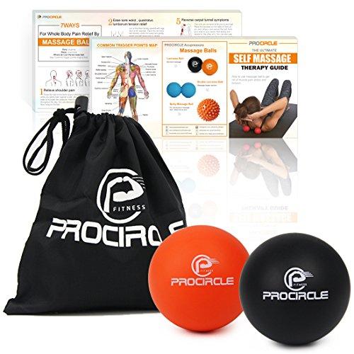 PROCIRCLE Massage Balls Lacrosse Myofascial