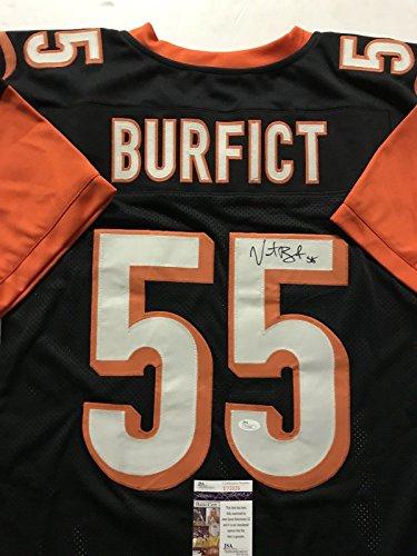 Autographed/Signed Vontaze Burfict Cincinnati Black Football Jersey JSA COA