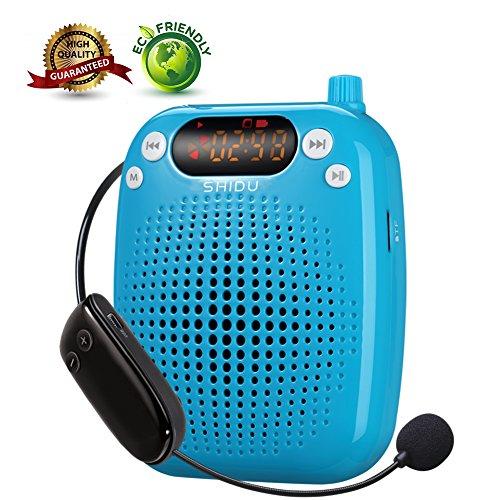 Amplifier SHIDU Wireless Rechargeable Microphone