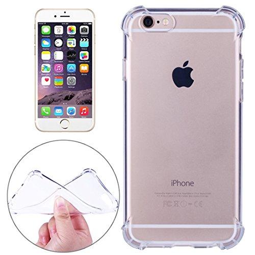 Phone Taschen & Schalen Für iPhone 6 Plus & 6s Plus Stoßfestes Kissen TPU Schutzhülle ( Color : Transparent )