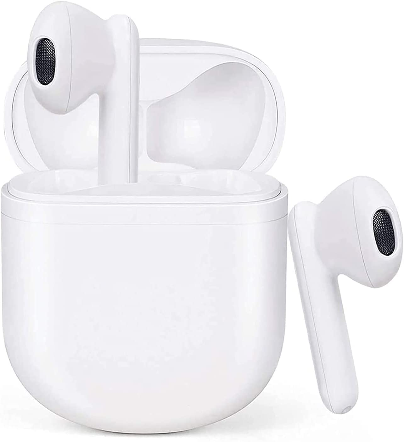 Wireless Earbuds Air podswireless Bluetooth 5.0 Earbuds 3D Stereo Air Buds Headphones IPX5 Waterproof Built-in Mic in Ear Buds 24 Hrs Play Time Sport Headset Earphone for iPhone/Android/Samsung Earbud