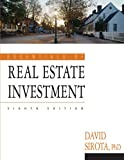img - for Essentials of Real Estate Investment: 8th (Eigth) Edition book / textbook / text book