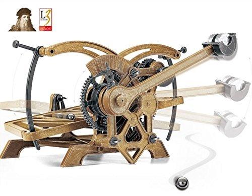 Academy Da Vinci Rolling Ball Timer (#18174A) / Da Vinci Series / Science Robot / Hobby Model Kits / Edu (Rolling Ball Clock)