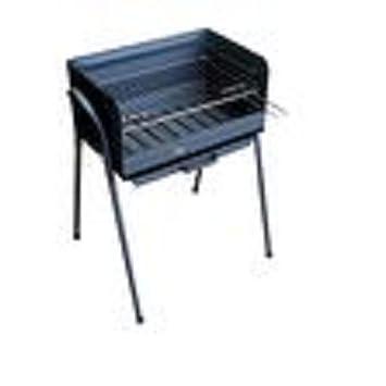 Solsun 43702 - Barbacoa huesca, 50 x 32 x 75 cm, color negro
