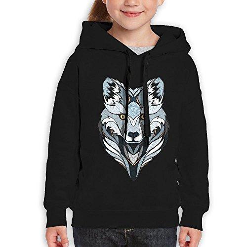 Hooded Animal Logo Sweatshirt - 1