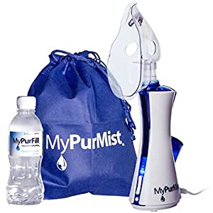 MyPurMist Handheld Personal Steam Inhaler and Vaporizer -- Classic Kit