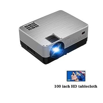 LFDD Proyector 3D Inteligente, WiFi, conexión Dual Speaker ...