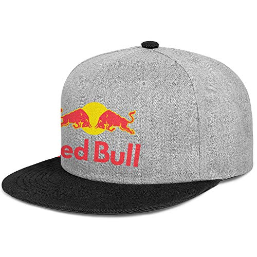 Red-Bull-Logo- Unisex Men Classic Flat-Brimmed Hat Fit Baseball Cap