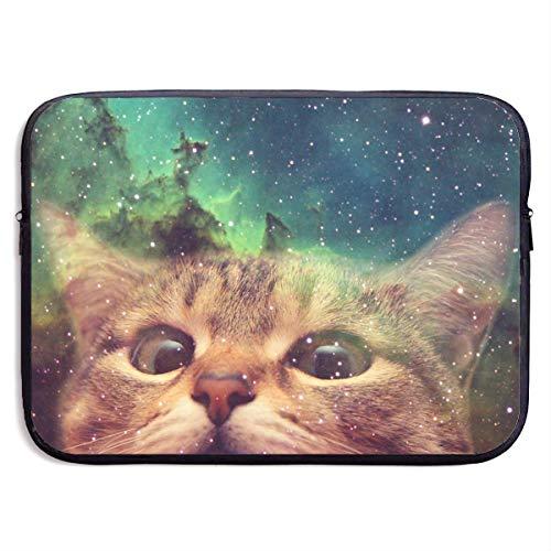 CHJOO Laptop Sleeve Bag Cute Cat Face Art 13/15 Inch Briefca