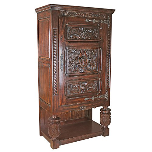 Design Toscano Coat of Arms Armoire Design Armoire