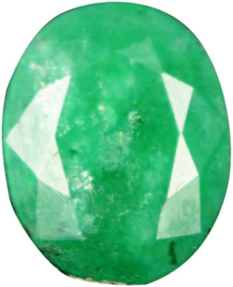 5.00 CT Natural Esmeralda Verde / 13 X 10 X 5 mm Egl Gema/Piedra Preciosa Suelta para Colgante AO-739