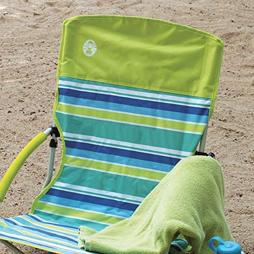 Coleman Camping Chair | Lightweight Utopia Breeze Beach Chair | Outdoor Chair with Low Profile 2