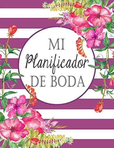 Mi Planificador De Boda: Un Organizador de Bodas, Rayas ...