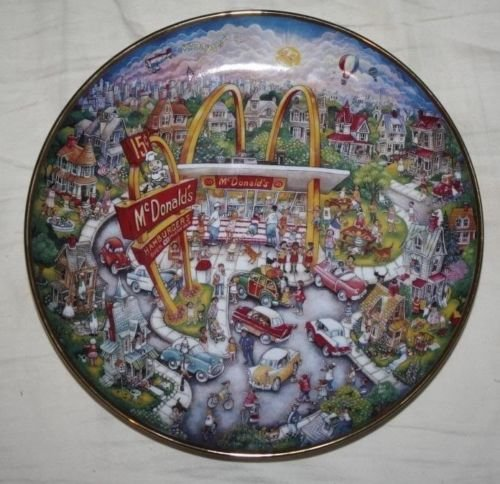 McDonald's Golden Moments Collector Plate - Bill Bell - Limited Edition