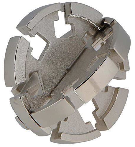 DISK Hanayama Cast Metal Brain Teaser Puzzle (Level 2)