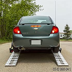 Aluminum Trailer Ramps