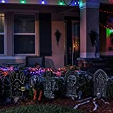NUOBESTY 4pcs Halloween Decor | RIP Graveyard Foam